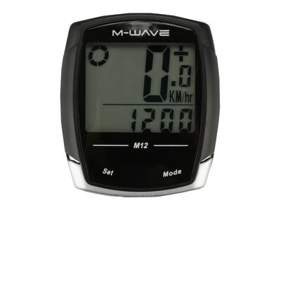 Velocímetro M-Wave M12 Bicycle Computer