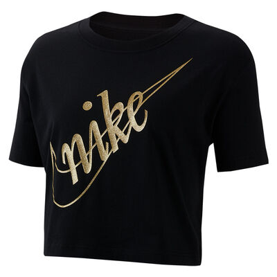 Remera Nike Sportswear Crop Glitter 2