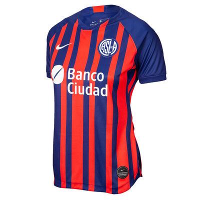 Camiseta Nike San Lorenzo Brt Stad Jsy Ss Hm