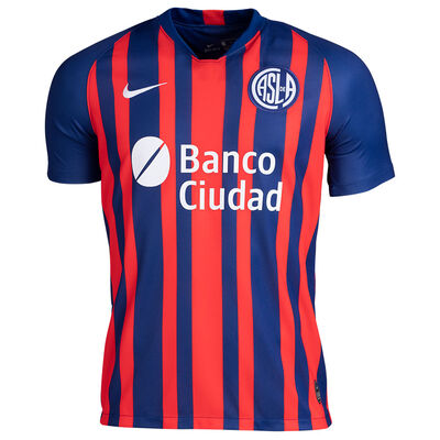 Camiseta Nike San Lorenzo Stadium Home 2020/21