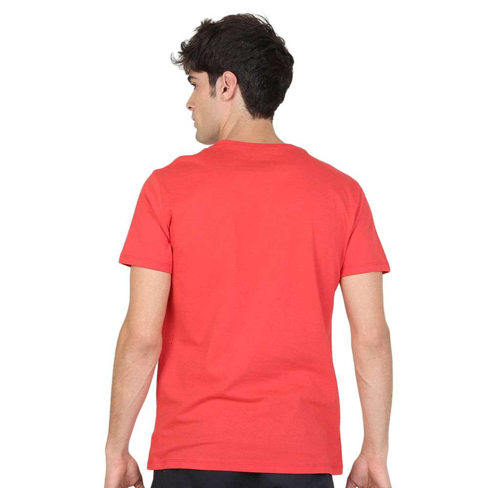 Remera Lotto M/C Basic Round Neck,  image number null